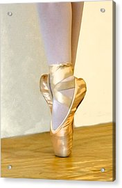 Ballet Toes On Point Acrylic Print