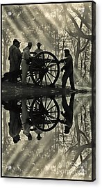 Acrylic Print featuring the photograph On The Banks by Geraldine DeBoer