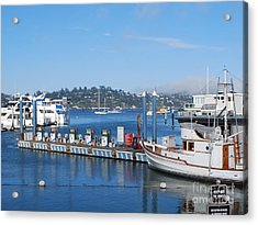 Acrylic Print featuring the photograph On The Bay by William Wyckoff