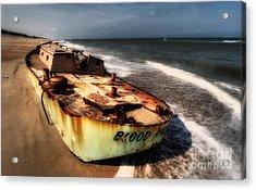 On The Beach II - Outer Banks Acrylic Print by Dan Carmichael