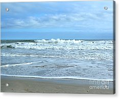 On The Beach Acrylic Print