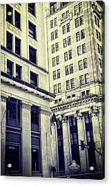 On The Corner In Nashville Acrylic Print by Dan Sproul