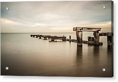 On The Dock Of The Bay Acrylic Print