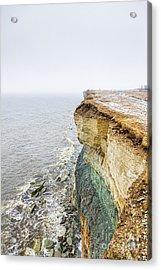 On The Edge Of The World Acrylic Print by Mario Mesi