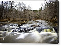 Acrylic Print featuring the photograph On The Eno II by Ben Shields