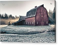 On The Farm Acrylic Print by Scott Holmes