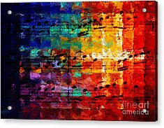 Acrylic Print featuring the digital art On The Grid 3 by Lon Chaffin