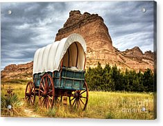 On The Oregon Trail Acrylic Print