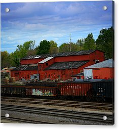 On The Other Side Of The Tracks Acrylic Print