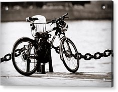 On The Quay - Featured 3 Acrylic Print by Alexander Senin