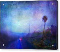 On The Road #18 - Lights In Time Acrylic Print
