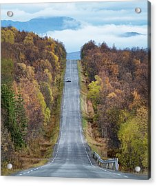 On The Road Again Acrylic Print by Christian Lindsten