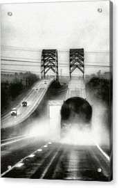 On The Road Again Acrylic Print by Robert  FERD Frank
