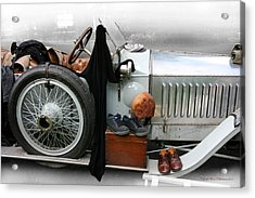 Acrylic Print featuring the photograph On The Road by Leena Pekkalainen