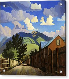 Acrylic Print featuring the painting On The Road To Lili's by Art James West