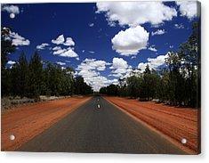 On The Road To Nindigully Acrylic Print by Noel Elliot