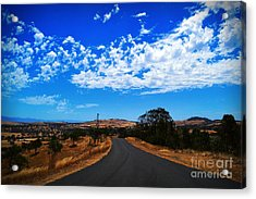 The Road To Nowhere  Acrylic Print by Naomi Burgess
