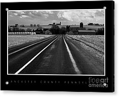 On The Road Acrylic Print