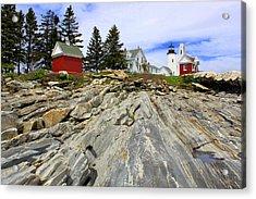 On The Rocks Acrylic Print