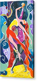 On The Stage - Onegin In My Eyes Acrylic Print by Elisabeta Hermann