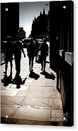 On The Street Acrylic Print