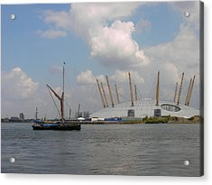 On The Thames Acrylic Print