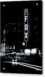 On The Town Acrylic Print by Scott Rackers
