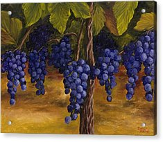 On The Vine Acrylic Print by Darice Machel McGuire