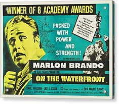 On The Waterfront - 1954 Acrylic Print by Georgia Fowler