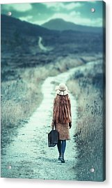 On The Way Acrylic Print by Magdalena Russocka