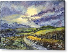 Calm After The Storm Acrylic Print by Carol Wisniewski