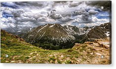 On Top Of The World Acrylic Print