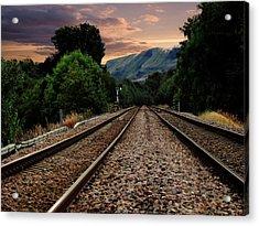 On Track. Acrylic Print