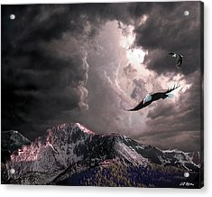 On Wings Of Eagles Acrylic Print