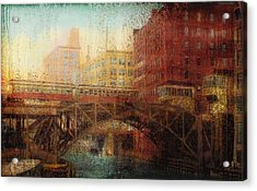 Once A Rainy Day Acrylic Print by Jack Zulli
