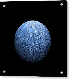 Once In A Blue Moon No.3 Acrylic Print
