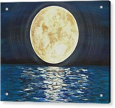 Once In A Very Blue Moon Acrylic Print