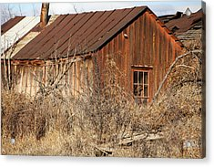 Once Occupied Acrylic Print by Fran Riley