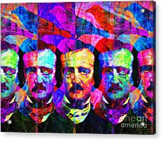 Once Upon A Midnight Dreary 20140118 Acrylic Print
