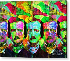 Once Upon A Midnight Dreary 20140118p128 Acrylic Print