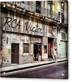 Once Upon A Time ... Ruins Of (rca Acrylic Print