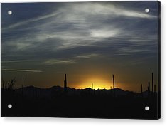 Once Upon A Time In Mexico Acrylic Print by Lynn Geoffroy