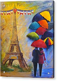 Once Upon A Time In Paris Acrylic Print