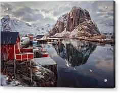 Once Upon A Time In The Arctic Acrylic Print
