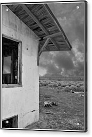 Once Upon A Time In The Desert... Acrylic Print by Glenn McCarthy Art and Photography