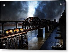 Once Upon A Time In The Story Book Town Of Benicia California - 5d18849 Acrylic Print by Wingsdomain Art and Photography