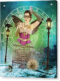 Once Upon A Time Acrylic Print by Juli Scalzi