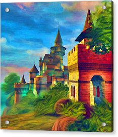 Once Upon A Time Acrylic Print by Tyler Robbins