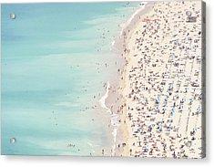 Ondarreta Beach, San Sebastian, Spain Acrylic Print