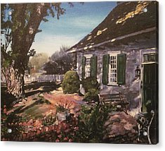Onderdonk House Acrylic Print by Victor SOTO